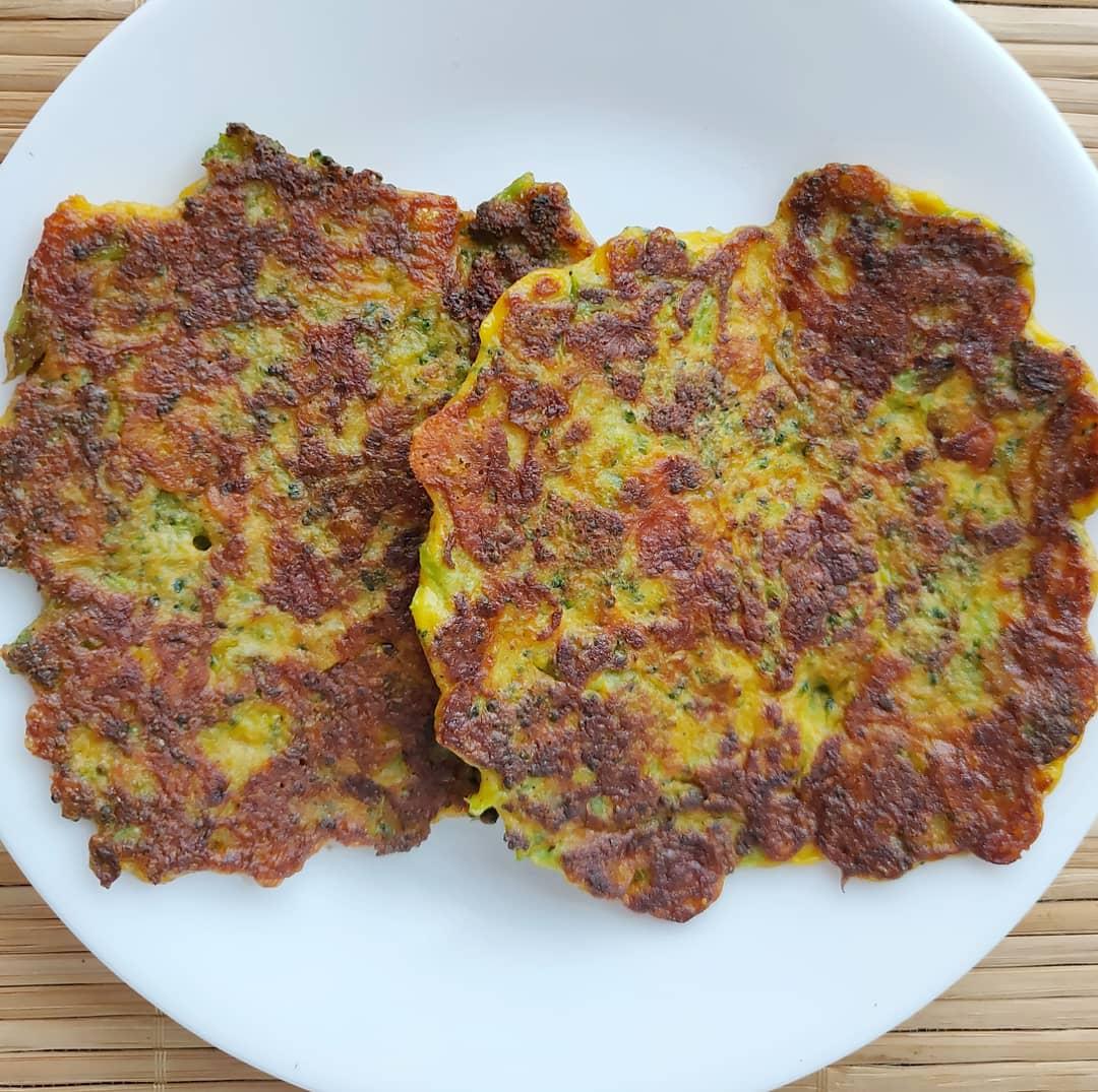 Keto Broccoli Cheese Fritters Broccoli Cheese Pancakes Subbu Cooks