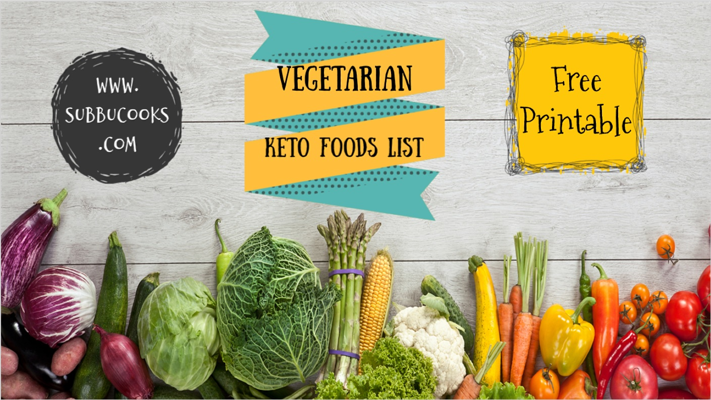 picture about Free Printable Keto Food List known as Vegetarian Keto Foodstuff listing In depth Vegetarian Keto diet program